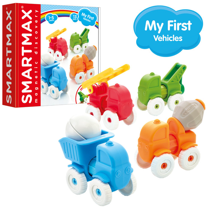 Juego my first vehicles