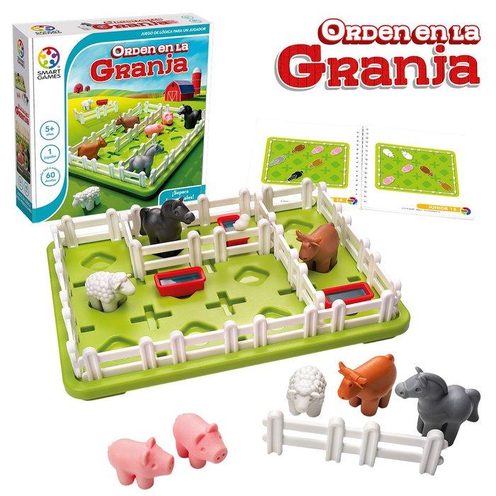 Juego educativo smart games orden en la granja