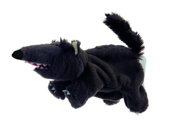 Titere de mano lobo negro