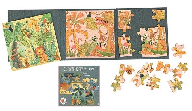 Puzzle magnetico selva