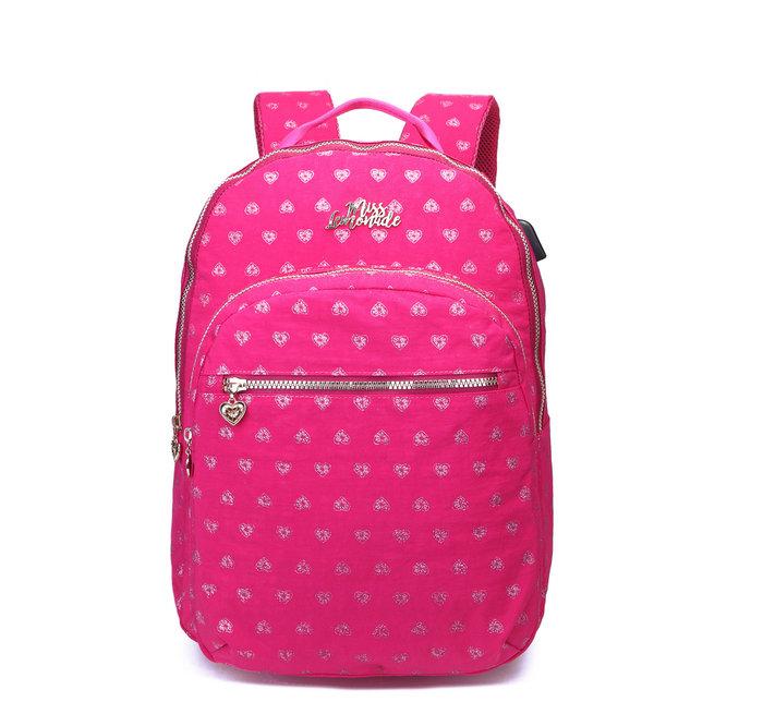 Mochila ml pink hearted