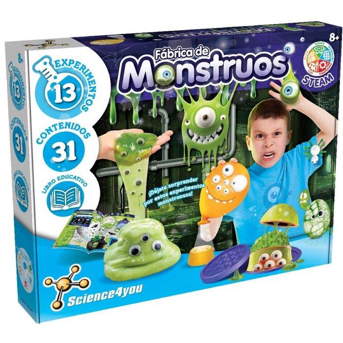 Juego fabrica de monstruos