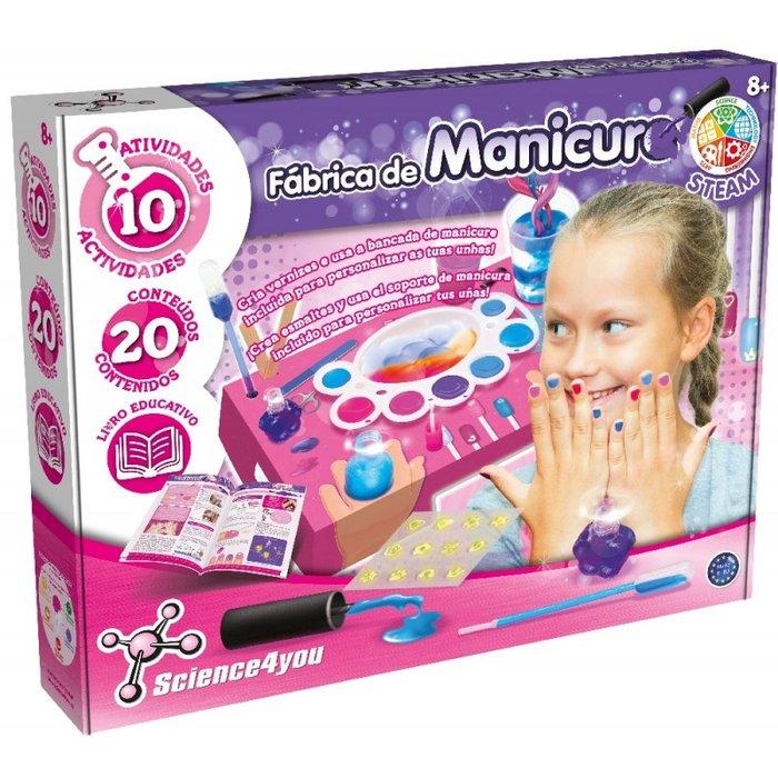 Juego fabrica de manicura
