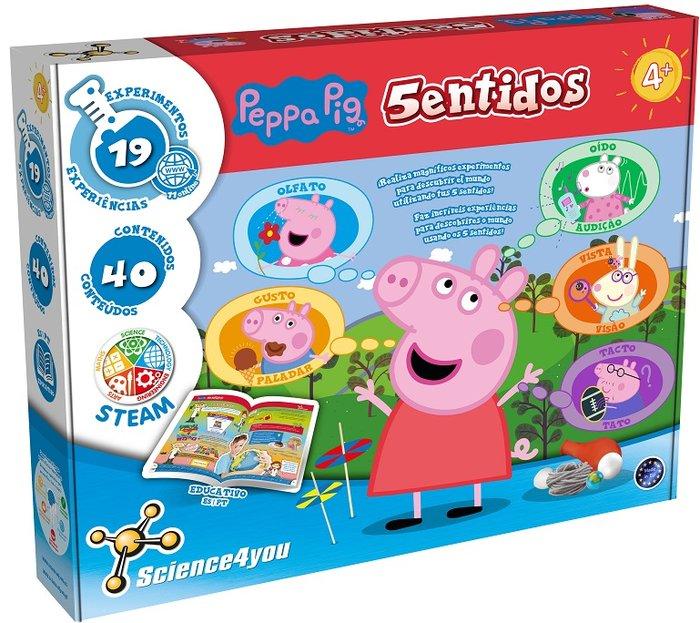Juego peppa pig y los 5 sentidos