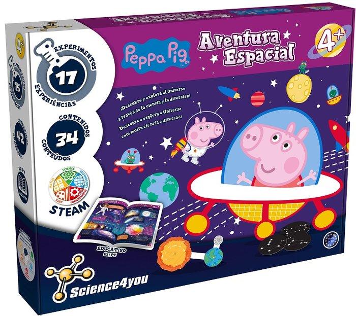 Juego aventura espacial de peppa pig
