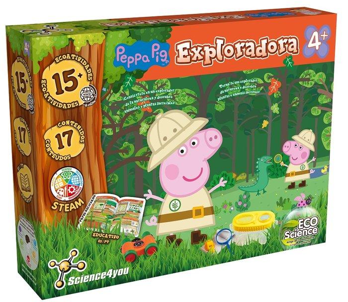 Juego peppa pig exploradora