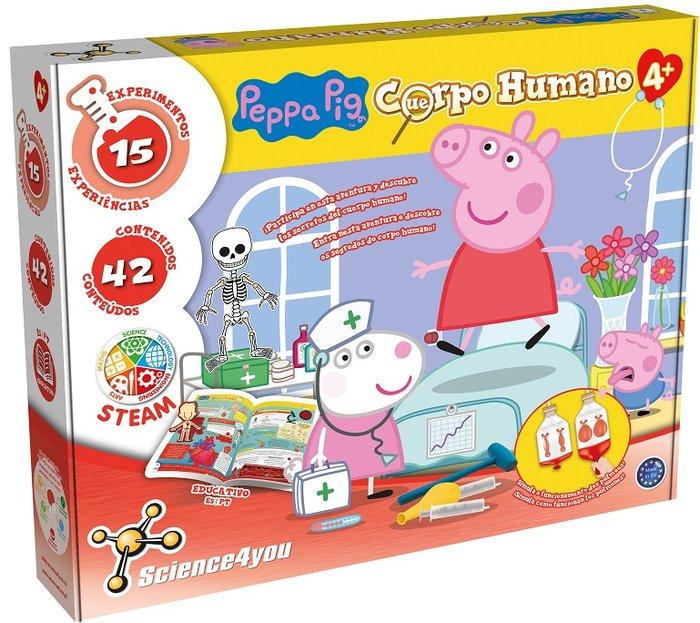 Juego descubre el cuerpo humano con peppa pig
