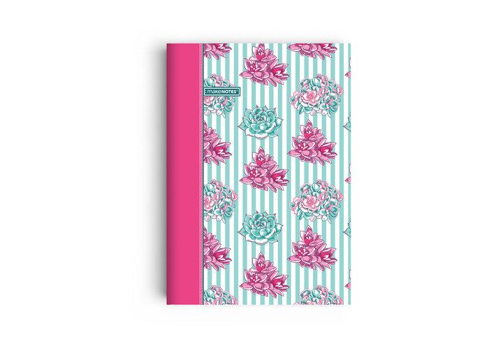 Cuaderno a5 grapado cactus