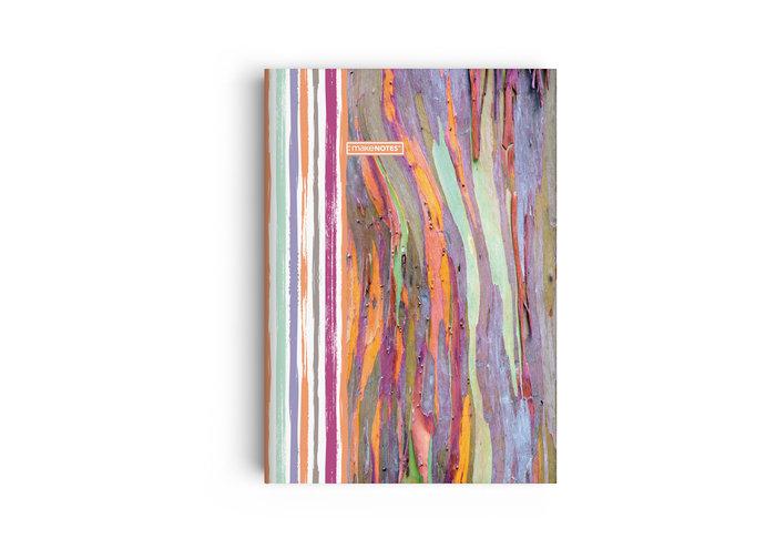 Cuaderno a5 grapado woodland