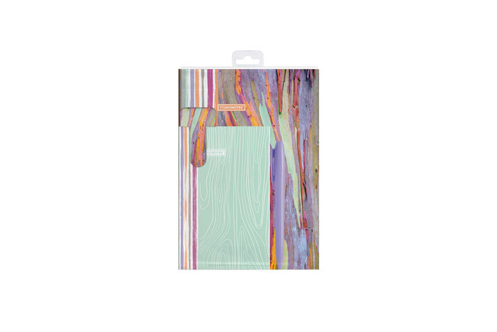Kit de escritura 2 cuadernos + marcapaginas + boligrafo wood