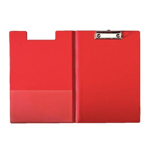 Carpeta con pinza y con tapa esselte rojo