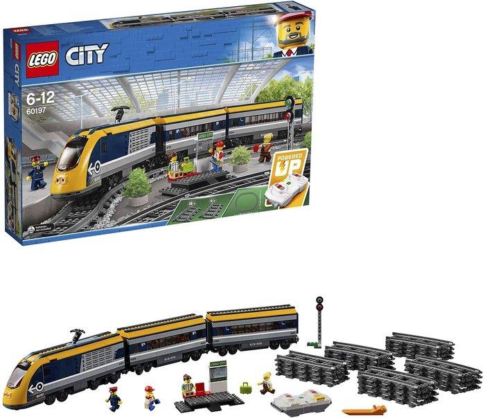 Lego city trains 60197 tren de pasajeros