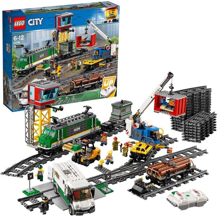 Lego city trains tren de mercancias