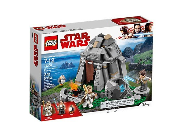 Lego star wars 75200 entrenamiento en ahch-to island