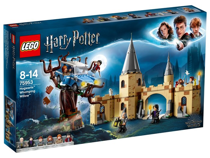 Lego harry potter sauce boxeador de hogwarts