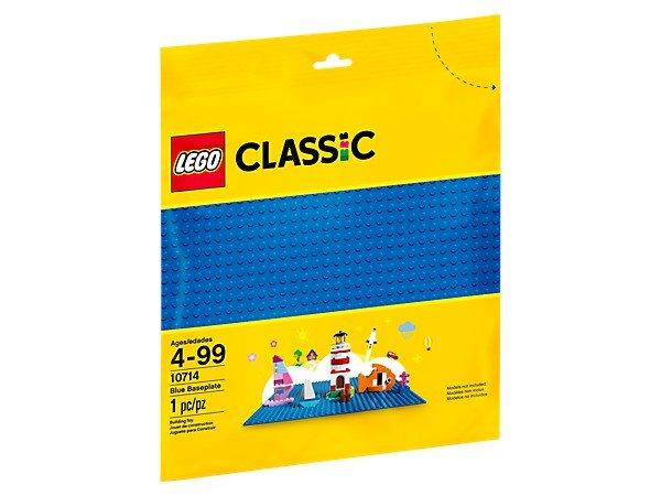 Lego classic 10714 base azul