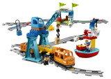 Lego duplo town tren de mercancias