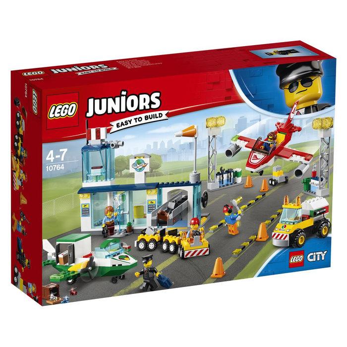 Lego juniors 10764 gran aeropuerto de la ciudad