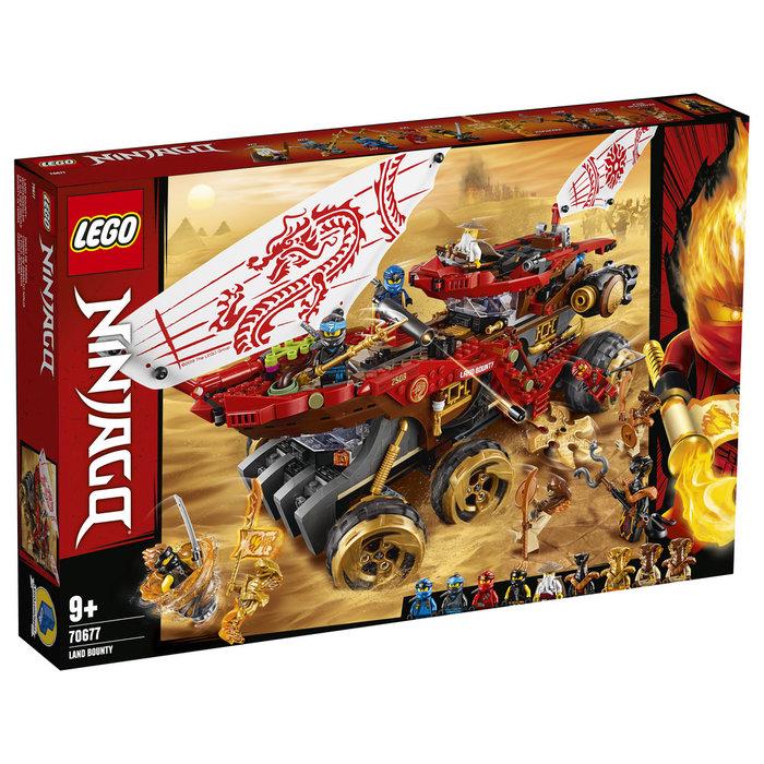Lego ninjago 70677 navio de tierra