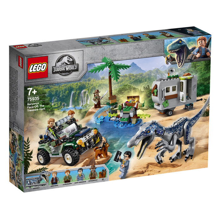 Lego jurassic world encuentro con baryonyx caza del tesoro