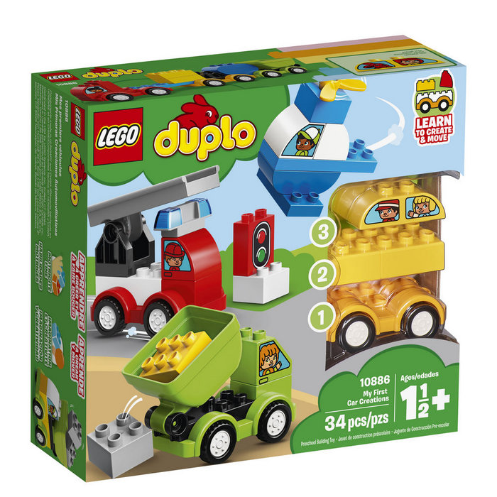 Lego duplo my first 10886 mis primeros coches