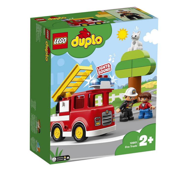 Lego duplo town 10901 camion de bomberos