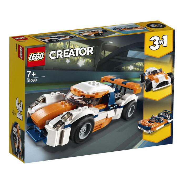 Lego creator 31089 deportivo de competicion sunset