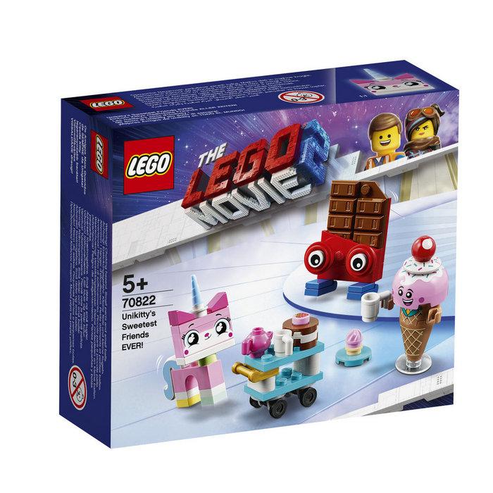 Lego movie 70822 mejores amigos de unikitty todo el mundo