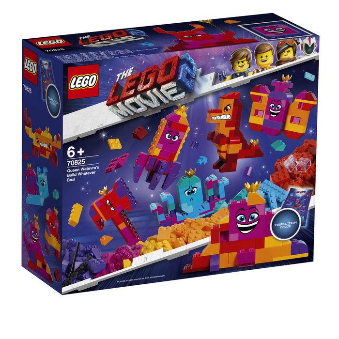 Lego movie 70825 caja construye lo que sea reina watevra