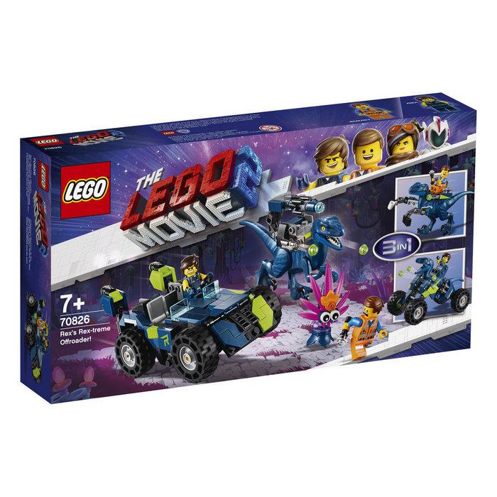 Lego movie 70826 todoterreno rextremo de rex