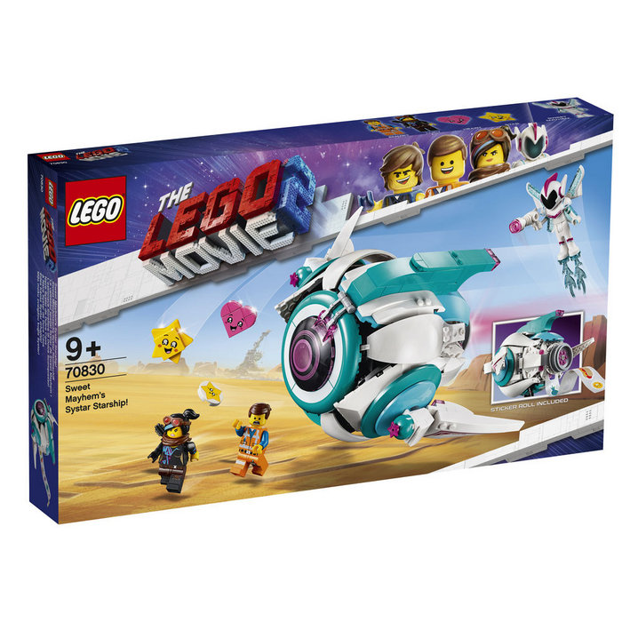 Lego movie 70830 nave systar de dulce caos
