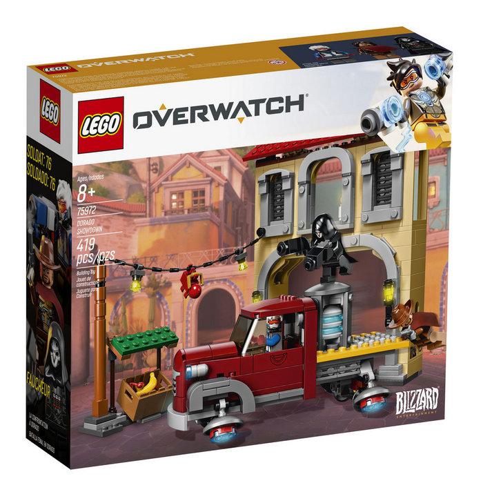 Lego overwatch 75972 batalla final en dorado