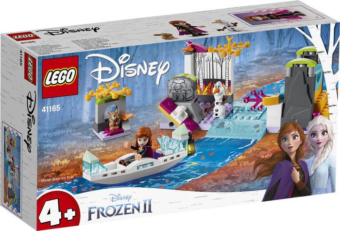 Lego disney frozen ii 41165 expedicion en canoa de anna