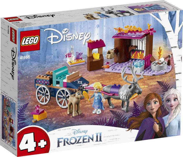 Lego disney frozen ii 41166 aventura en carreta de elsa