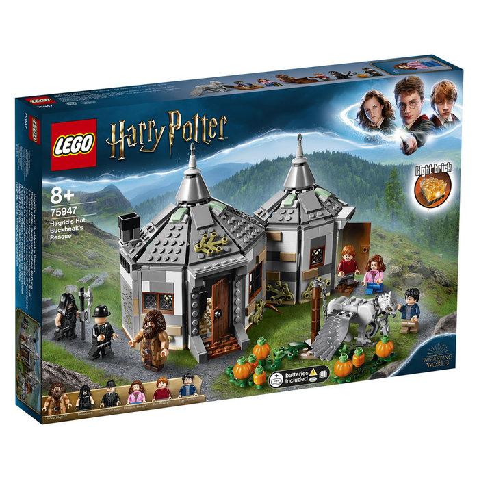 Lego harry potter cabaÑa de hagrid rescate de buckbeak