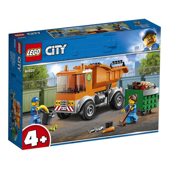 Lego city great vehicles 60220 camion de la basura