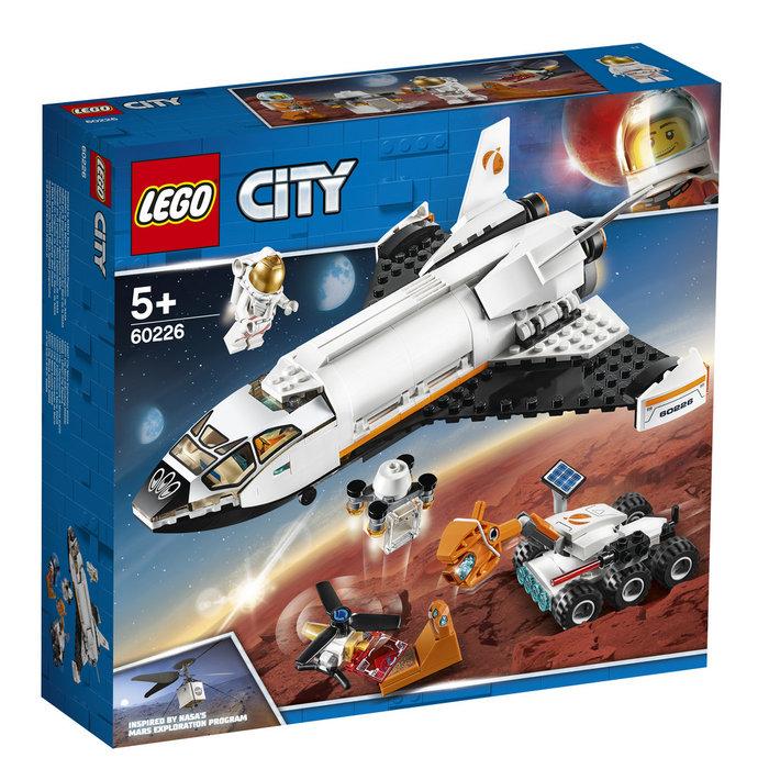 Lego city space port lanzadera cientifica a marte