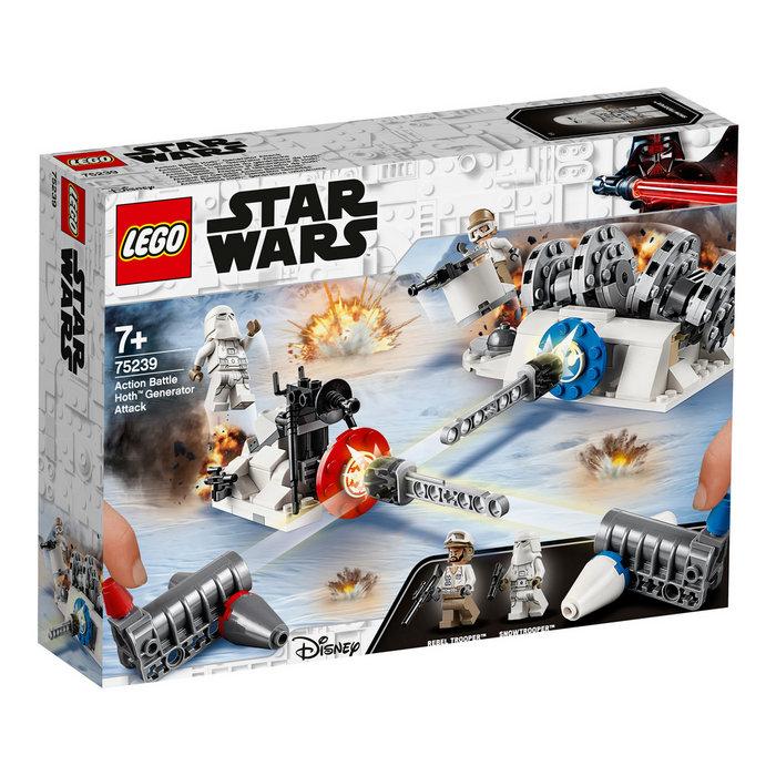 Lego star wars action battle 75239 ataque generador de hoth