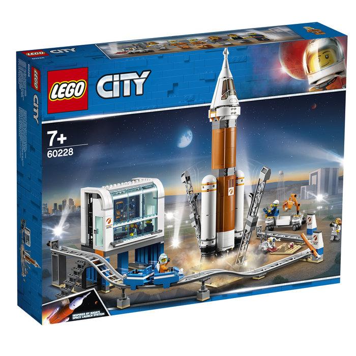 Lego city space port cohete espacial de larga distancia