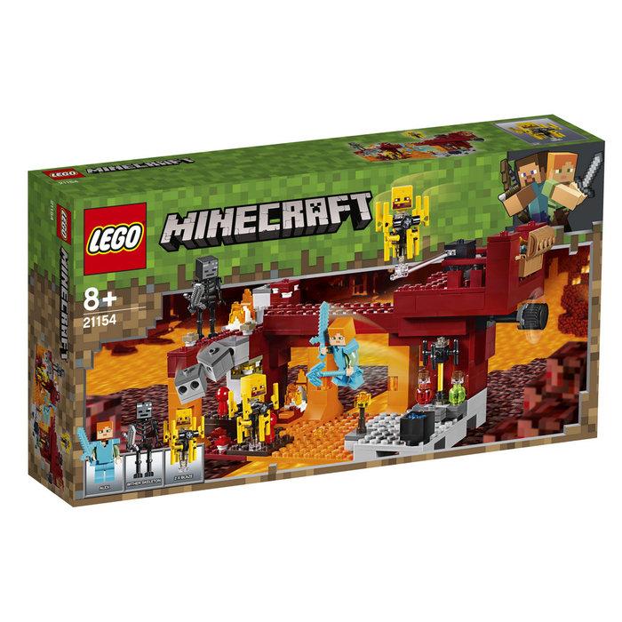 Lego minecraft el puente del blaze