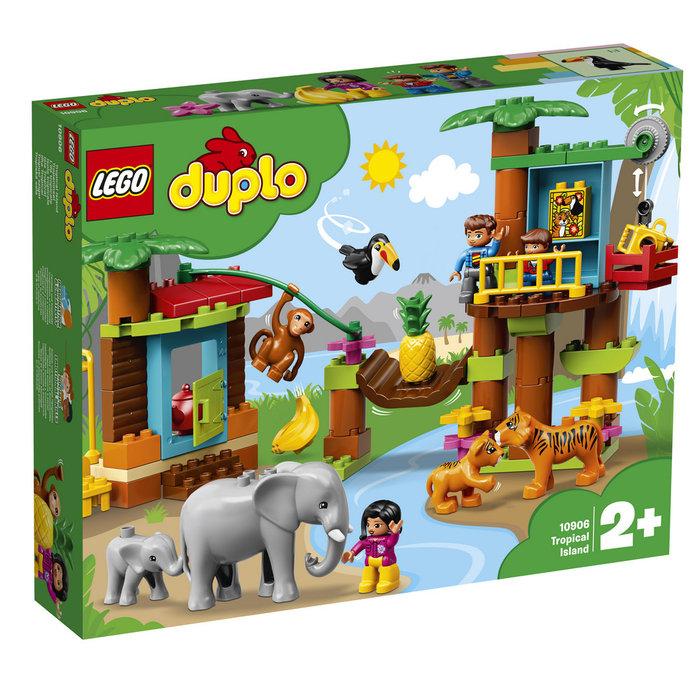 Lego duplo town isla tropical