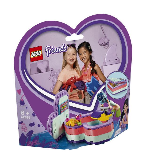 Lego friends 41385 caja corazon de verano de emma