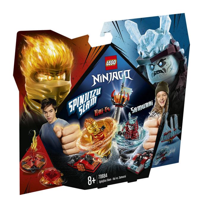 Lego ninjago 70684 spinjitzu slam kai vs samurai