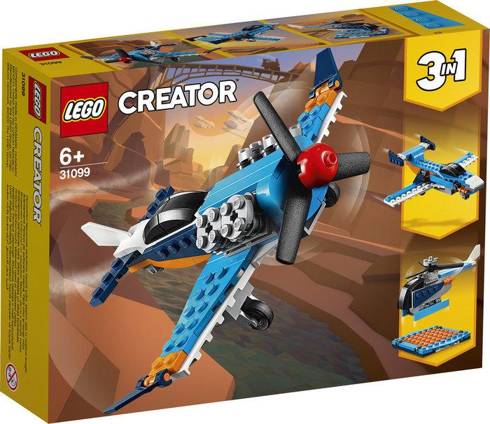 Lego creator avion de helice