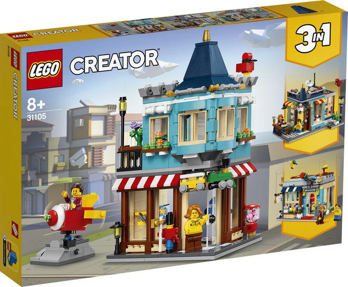 Lego creator tienda de juguetes clasica