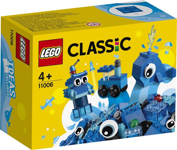 Lego classic ladrillos creativos azules