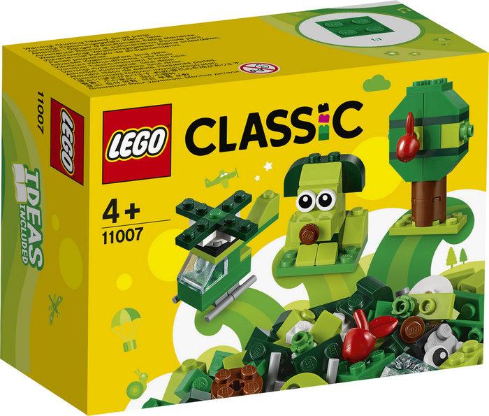 Lego classic ladrillos creativos verdes