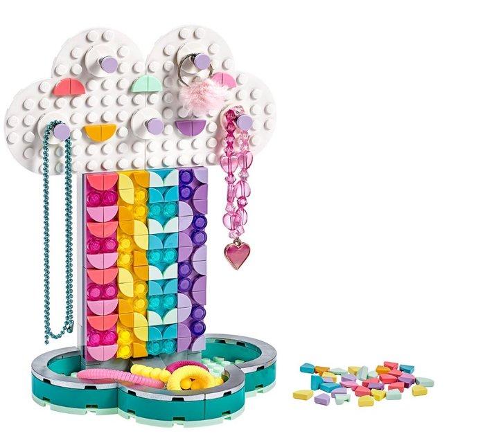 Lego dots portajoyas arcoiris 41905