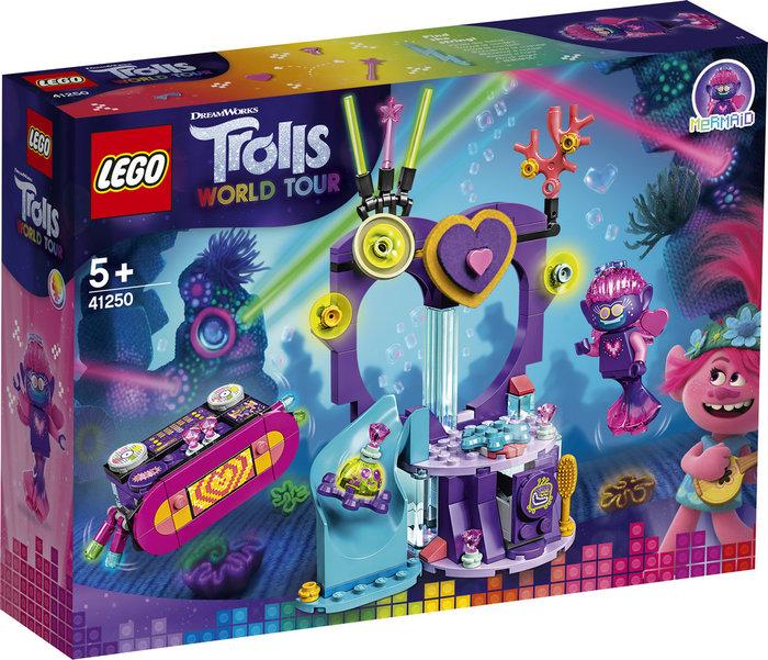 Lego trolls fiesta de baile en techno reef