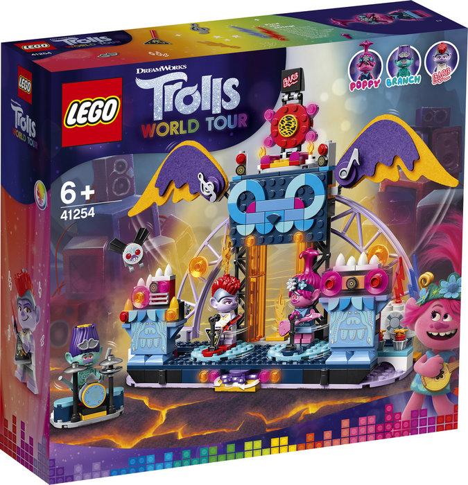 Lego trolls concierto en volcano rock city